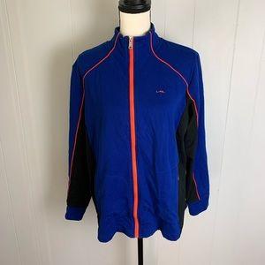 L-RL Stretch Active Zip Sweatshirt-1X